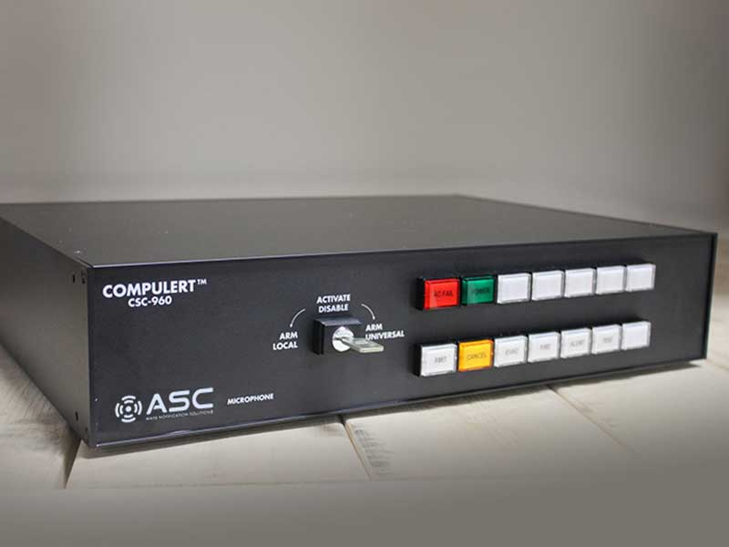 American Signal CompuLert CSC-960 Main Activation Point